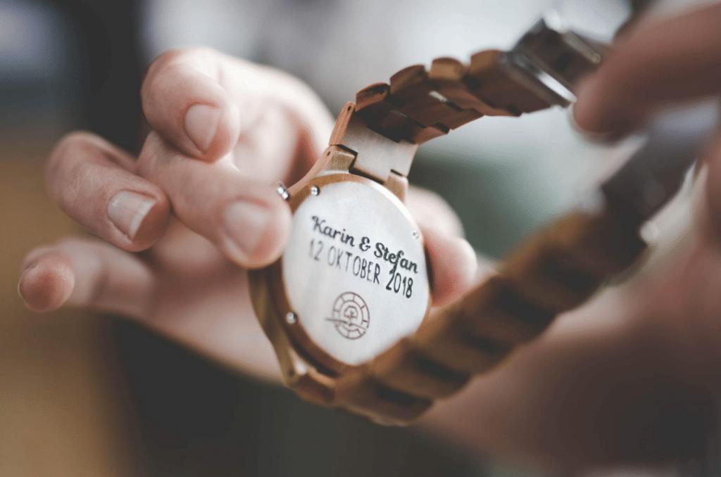 Horloge graveren